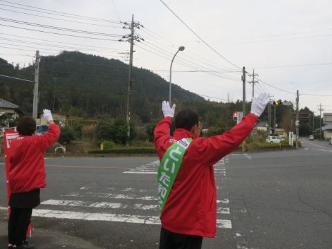 「選挙戦4日目辻立ち!」 (4)