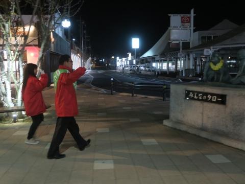 「選挙戦4日目辻立ち!」 (10)