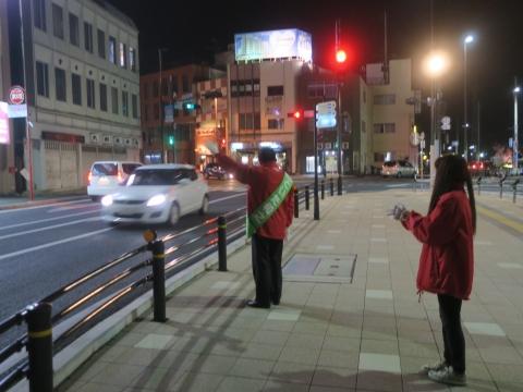 「選挙戦4日目辻立ち!」 (9)