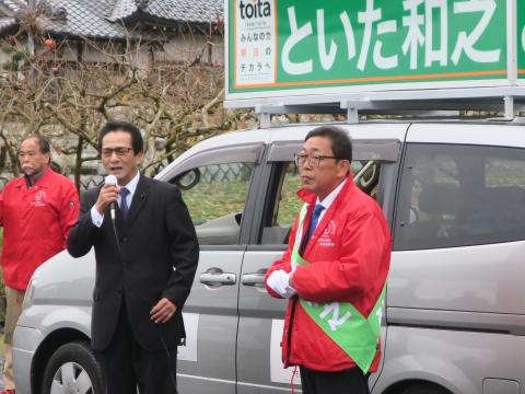 「選挙戦7日目!」街頭演説⑥