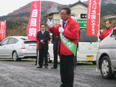 「選挙戦7日目!」街頭演説⑪