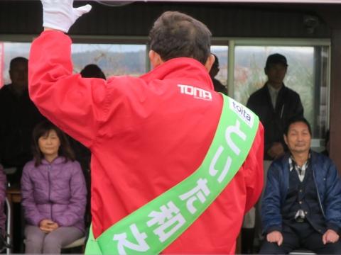 「選挙戦7日目!」街頭演説⑭