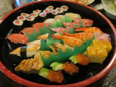 「何か月ぶりのお寿司」①
