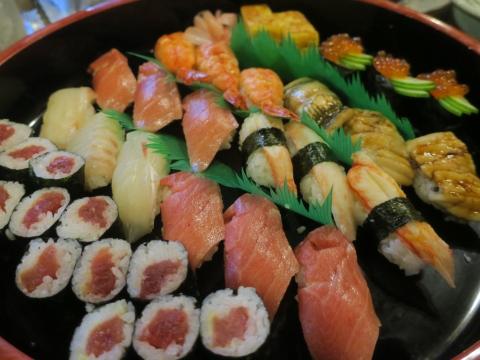 「何か月ぶりのお寿司」②