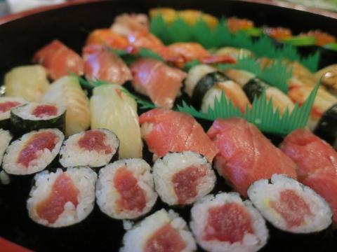 「何か月ぶりのお寿司」③