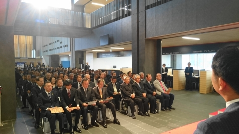 「石岡市役所新庁舎竣工式&お披露目」 (6)