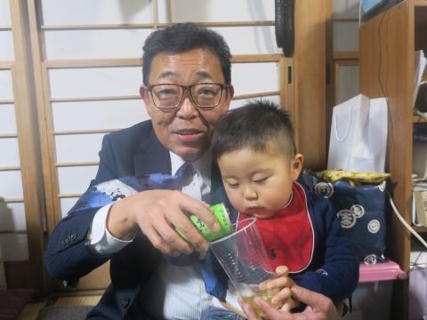「戸井田家の新年会」③