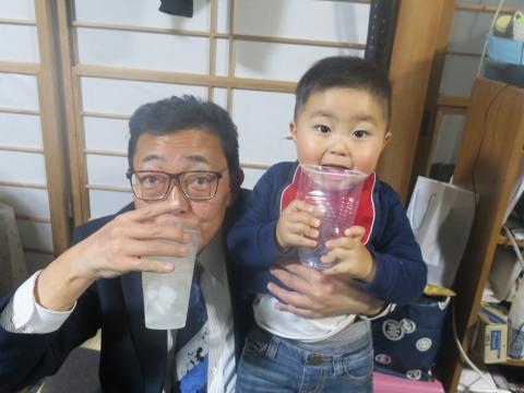 「戸井田家の新年会」④