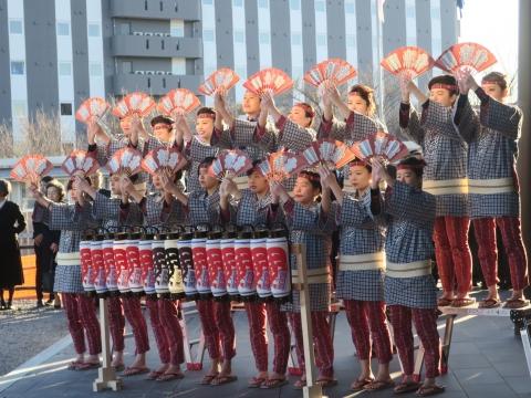 「祝石岡市役所新庁舎開庁式」④