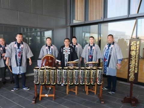 「祝石岡市役所新庁舎開庁式」⑧