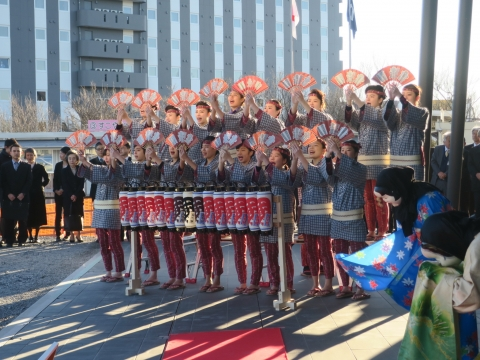 「祝石岡市役所新庁舎開庁式」⑭