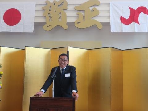 「石岡商工会議所新年賀詞交歓会」①