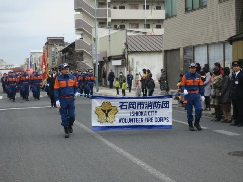 「石岡市消防出初式&パレード」⑭