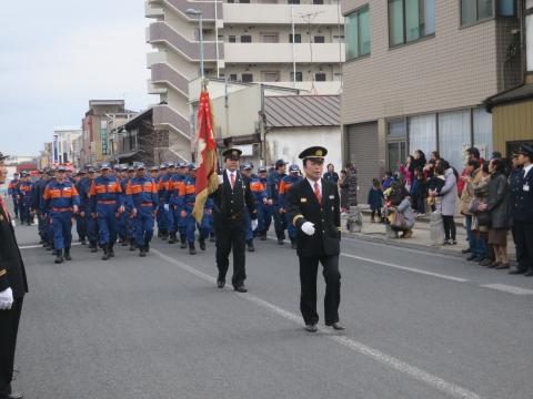 「石岡市消防出初式&パレード」⑮