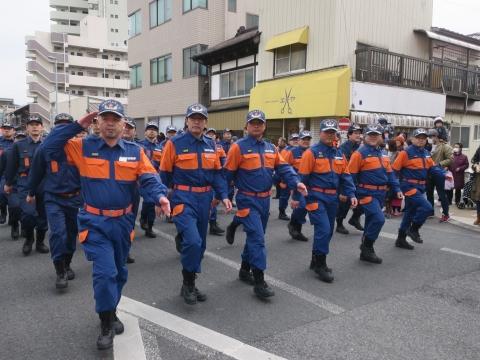 「石岡市消防出初式&パレード」⑯