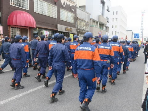 「石岡市消防出初式&パレード」⑰