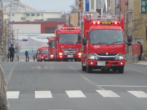 「石岡市消防出初式&パレード」⑱
