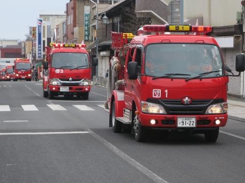 「石岡市消防出初式&パレード」㉒