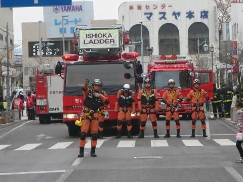 「石岡市消防出初式&パレード」㉘