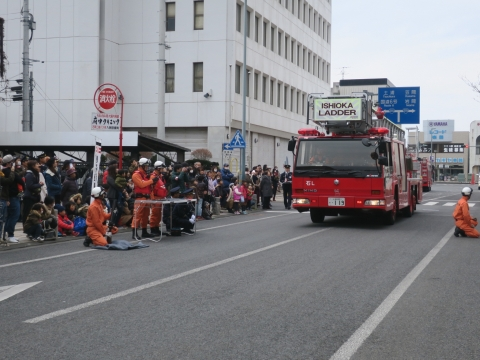 「石岡市消防出初式&パレード」㉙
