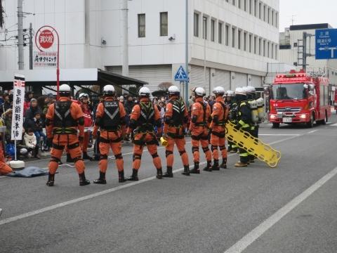 「石岡市消防出初式&パレード」㉚