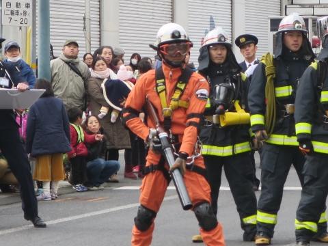 「石岡市消防出初式&パレード」㉛