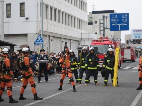 「石岡市消防出初式&パレード」㉜