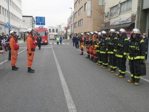 「石岡市消防出初式&パレード」㊶
