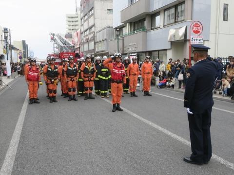 「石岡市消防出初式&パレード」㊷