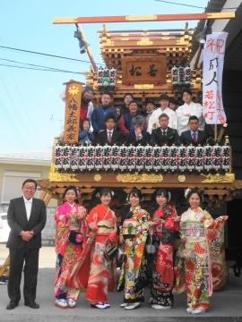 「祝平成31年石岡市成人式」 (1)