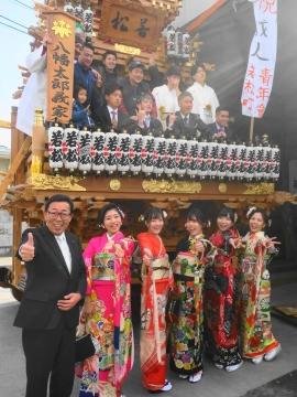 「祝平成31年石岡市成人式」 (2)