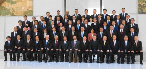 平成31年1月17日「茨城県議会臨時議会記念撮影」