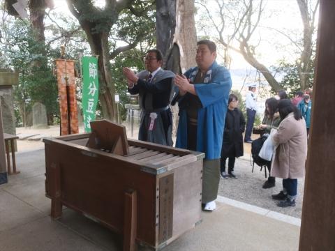「常陸國總社宮」節分豆撒き祭㉑_R