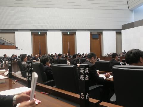 「平成31年第1回定例議会が始まりました!」③