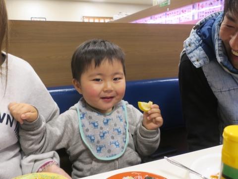 「孫と回転寿司に行ってきました!」①