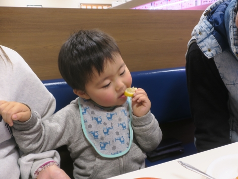 「孫と回転寿司に行ってきました!」③