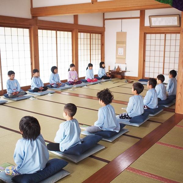 600保育園児の坐禅体験 【平成31年2月】