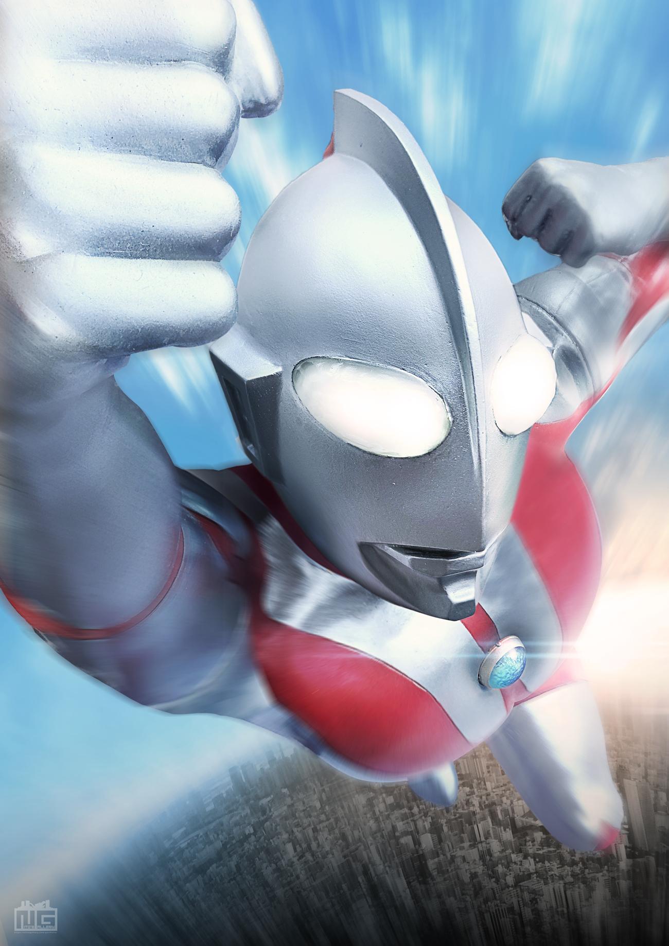 【デジラマ】飛翔! -ウルトラマン-(リメイク)