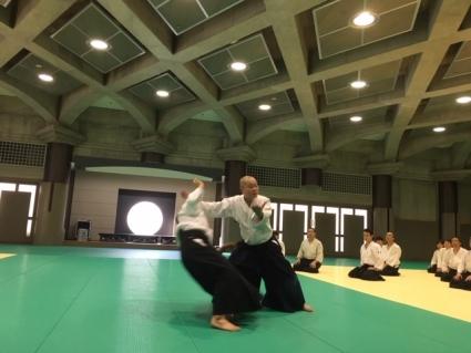 櫻井師範の御指導
