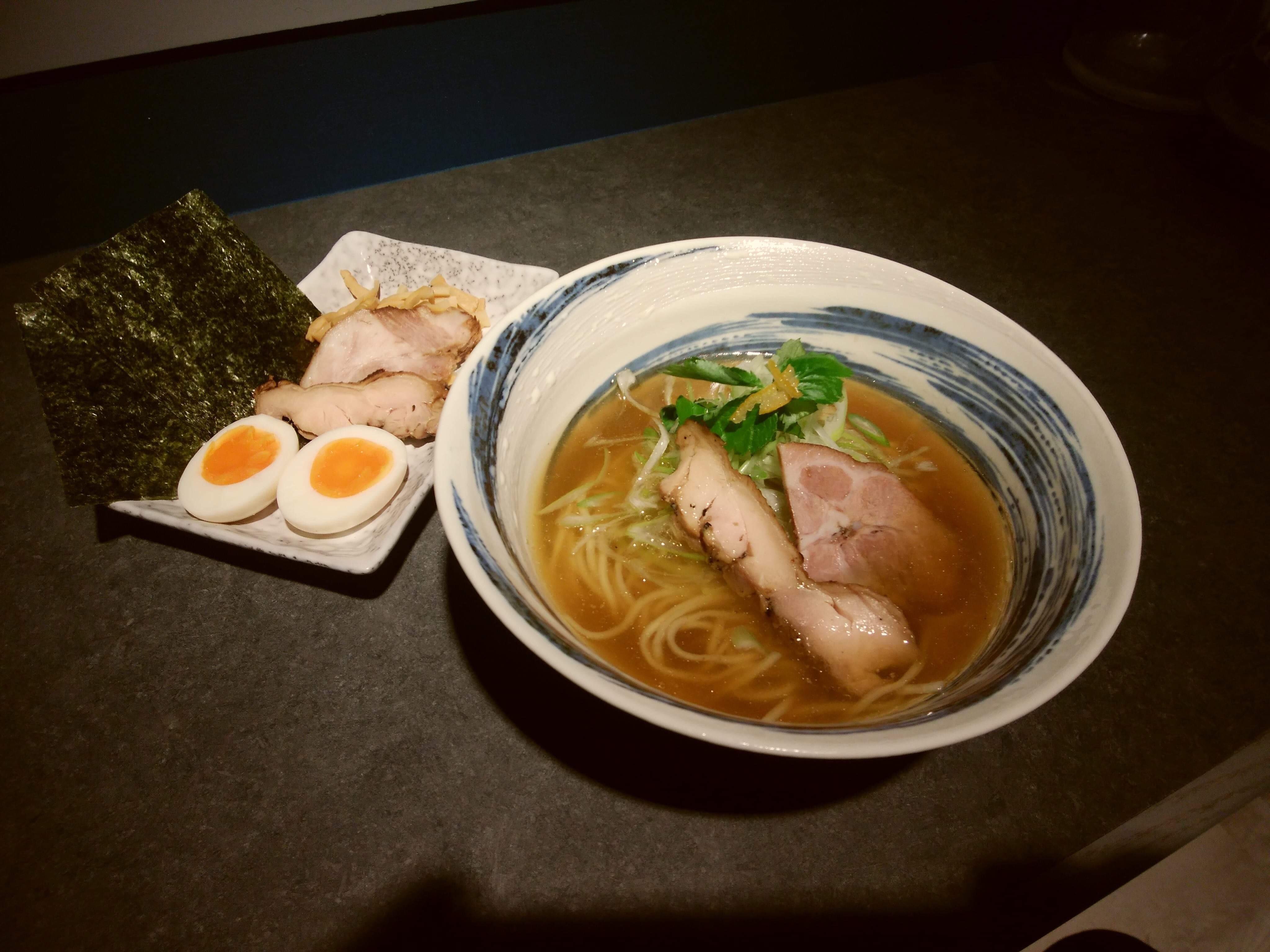麺彩房弐NEXT 東京都中央区日本橋人形町2−6−12 特製焼き鰆そば