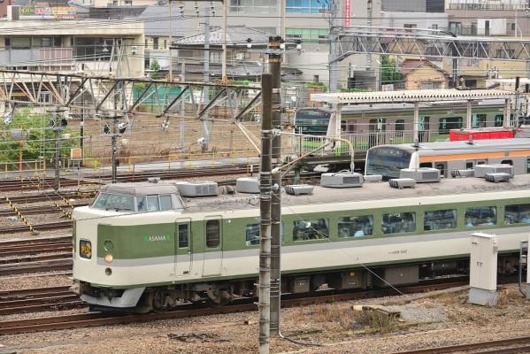 2018年6月16日 JR東日本中央本線 八王子 189系N102編成