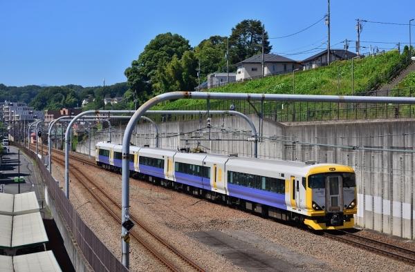 2018年7月2日 JR東日本横浜線 相原~八王子みなみ野 E257系NB-11編成