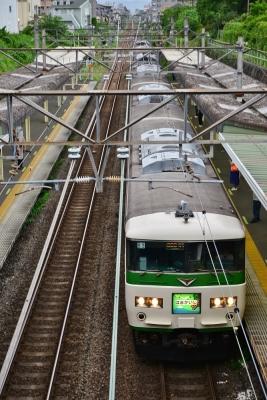 2018年7月7日 JR東日本横浜線 古淵 185系B3編成
