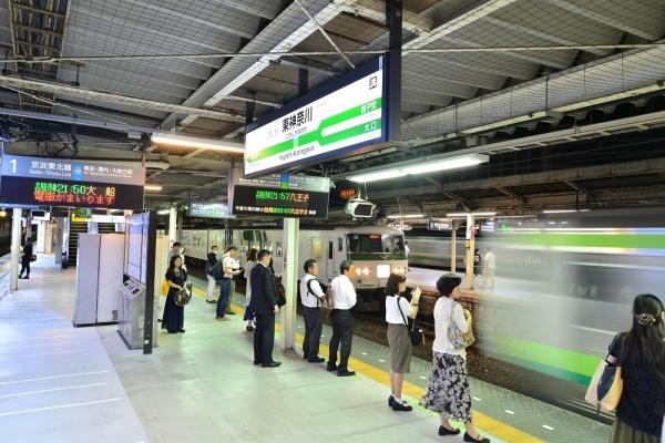 2018年7月7日 JR東日本横浜線 東神奈川 185系B3編成