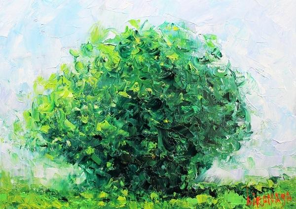 19030133・10×7ラウニー・樹