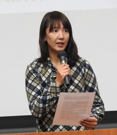 14 訴える内野博子さん 2018シンポ