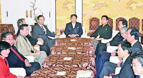 野党5党・1会派の党首会談