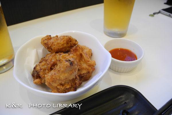 2018年7月29日5パクチリ・鶏のから揚げ