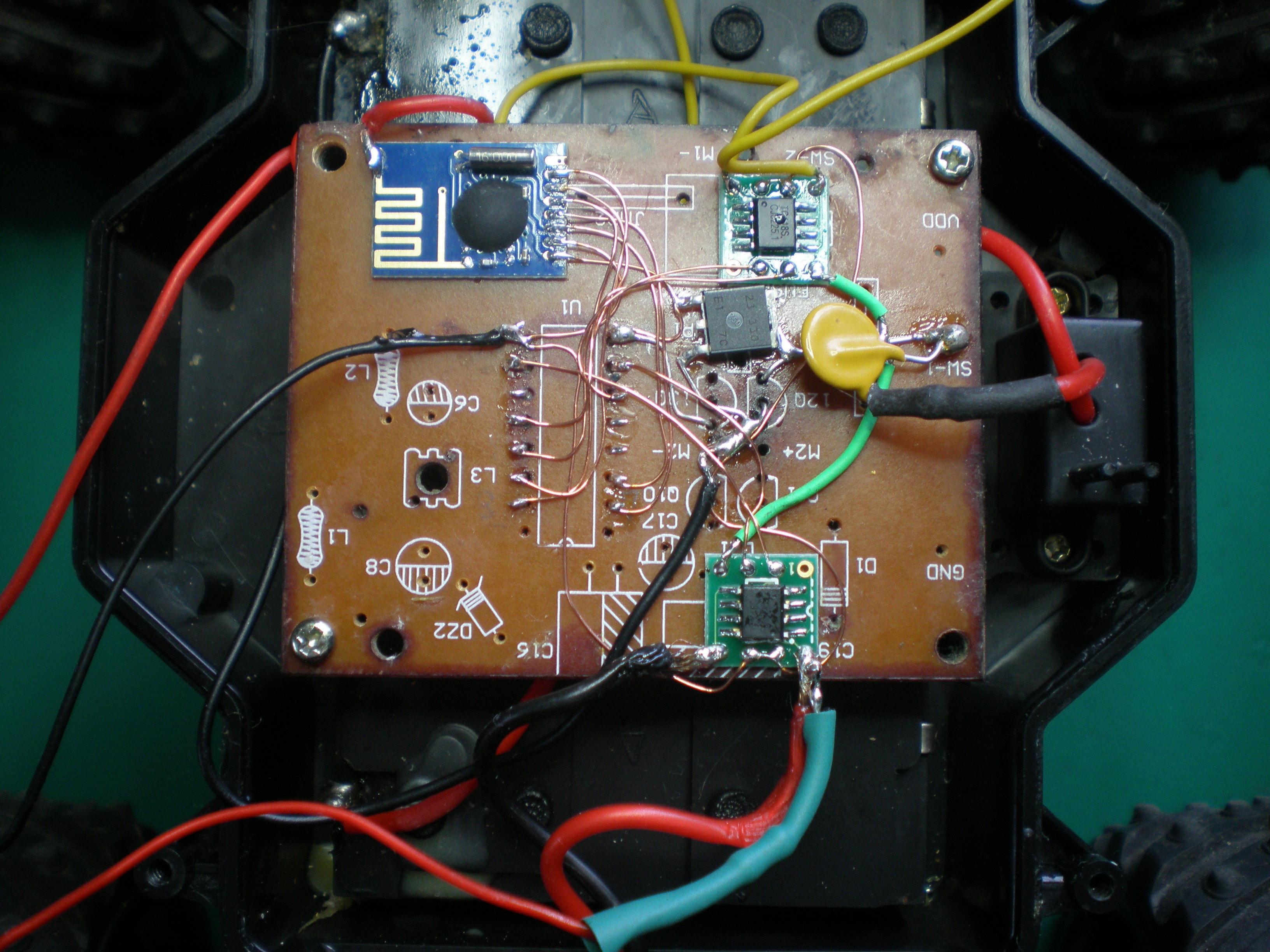 2.4GHzラジコン修理事例(諌早)受信機