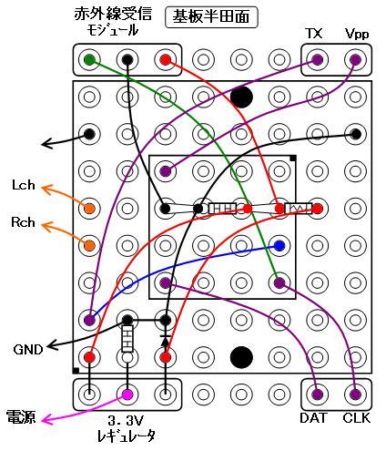 DFPlayerMiniの制御(配線図2)